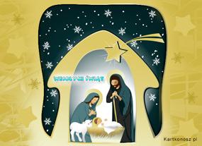 eKartki Boże Narodzenie W stajence,