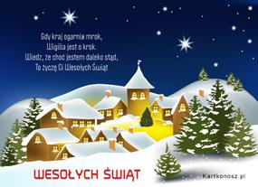 eKartki Boże Narodzenie Wigilia jest o krok,