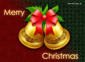 eKartki Boże Narodzenie Złote dzwoneczki,