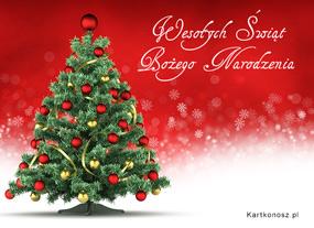 eKartki Boże Narodzenie Życzenia pod choinkę,