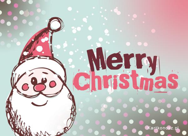 Rysowany Mikołaj
