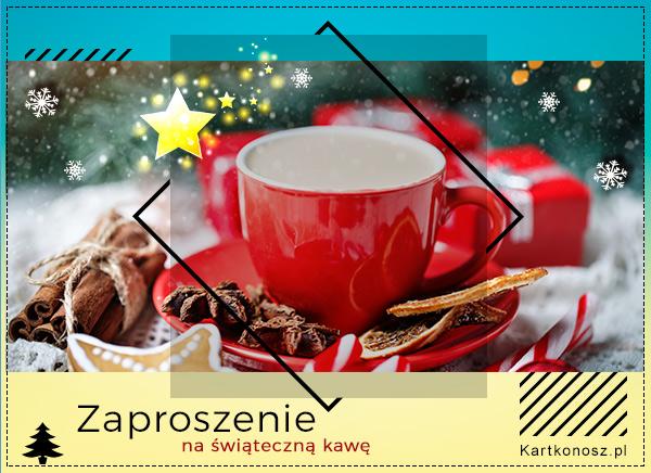 Zaproszenie na świąteczną kawę