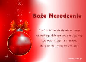 eKartki Boże Narodzenie Banieczka dla Ciebie,