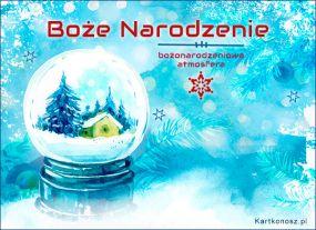 Bożonarodzeniowa atmosfera
