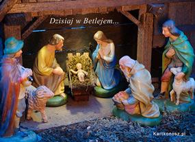 eKartki Boże Narodzenie Dzisiaj w Betlejem,