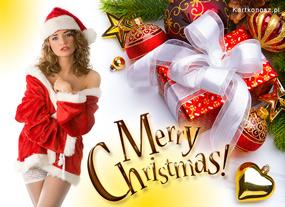 e Kartki  z tagiem: Darmowe kartki bożonarodzeniowe Mikołajka,