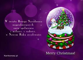 eKartki Boże Narodzenie Radości Bożego Narodzenia,