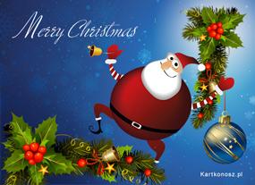 eKartki Boże Narodzenie Świąteczna przesyłka,