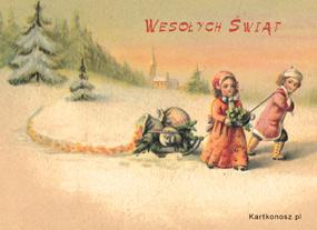eKartki Boże Narodzenie Nadeszły Święta Bożego Narodzenia,