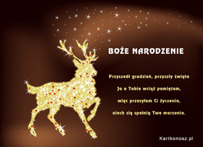 eKartki Boże Narodzenie W grudniowy wieczór,