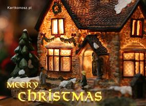eKartki Boże Narodzenie Boże Narodzenie w domu,