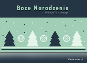 eKartki Boże Narodzenie Choineczki,