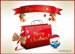 eKartki Boże Narodzenie Bożonarodzeniowe zakupy,