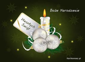 eKartki Boże Narodzenie Płomień Bożego Narodzenia,