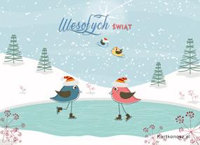 eKartki Boże Narodzenie Świąteczne harce,