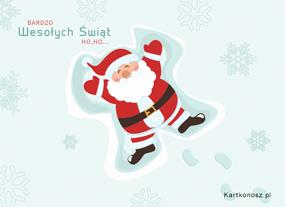 eKartki Boże Narodzenie Bardzo Wesołych Świąt,